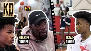 """""""I'm One Of Y'all... And I Got A Couple Dollars!"""" Kevin Durant Spits FACTS To Sharife Cooper & Okoro"""