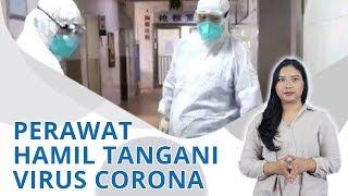 Wiki Trends - Meski Hamil Tua, Petugas Medis Ini Tetap Bertugas Tangani Virus Corona di Ruang IGD