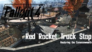 Minutemen Settlement Build - Red Rocket Truck Stop