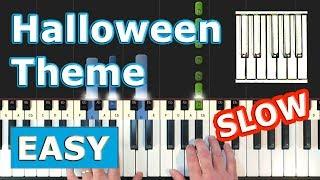 michael myers theme song piano slow easy - मुफ्त