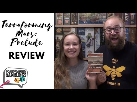 Board Gaming Ramblings: Terraforming Mars Prelude Review