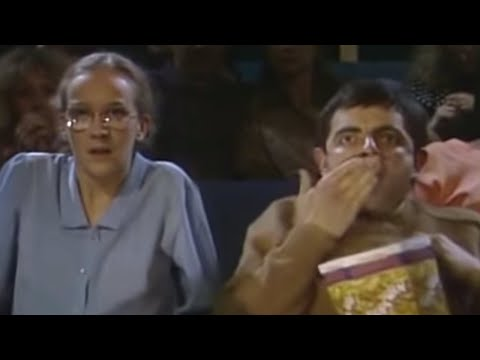 Mr Bean watches a horror movie plus more funny Mr Bean clips Stay tuned: ...
