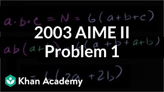2003 AIME II Problem 1
