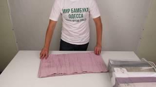 Бамбуковые полотенца Sikel, 70 х 140 см., 6 шт./уп. 880012 от компании Текстиль оптом, в розницу от 1 грн. МИР БАМБУКА, Одесса, 7 км. - видео