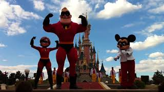 Disneyland Paris VINTAGE - Footage from 2010's New Generation Festival - Disney Showtime Spectacular