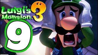 Luigi's Mansion 3 Walkthrough Part 9 Paranormal Productions 8th Floor! (Nintendo Switch) Co-Op