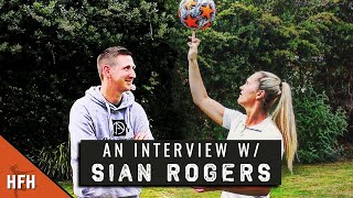 SIAN ROGERS | Aston Villa, England U-20 & injury setback
