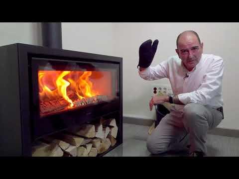 PANADERO El funcionamiento de una estufa de leña