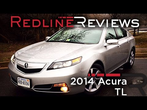 2014 Acura TL Review, Walkaround, Exhaust, & Test Drive