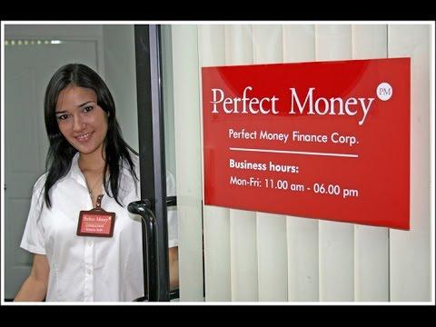 Кошелёк Perfect Money   Регистрация