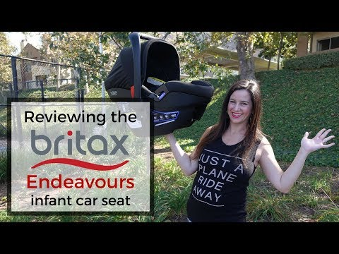 Review of Britax Endeavours infant car seat: Great for traveling families