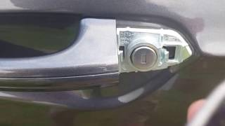 How to unlock your car when you key fob is dead on a ford fusion
