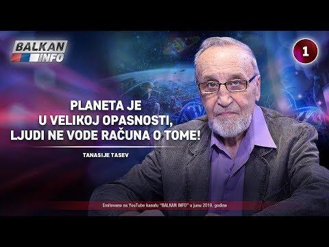 INTERVJU: Tanasije Tasev - Planeta je u velikoj opasnosti, ljudi ne vode računa o tome! (18.6.2019)