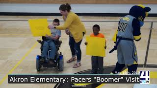 Akron Elementary Pacers Boomer Visit - 5-15-19