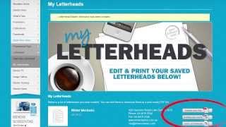 Bendix Build Your Own Letterhead Instructional Video