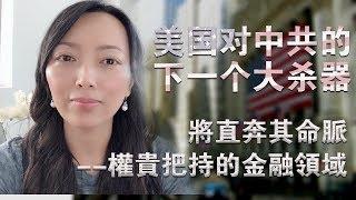 美國下一個大殺器:斷絕華爾街給中共輸血,清除美國資本市場的中國公司,凍結中共官員在美資產。