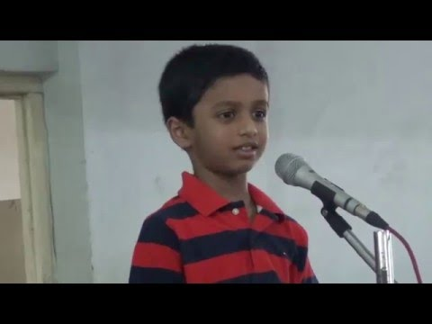 Ansh's  speech during New India School KG Farewell function 2nd April2016