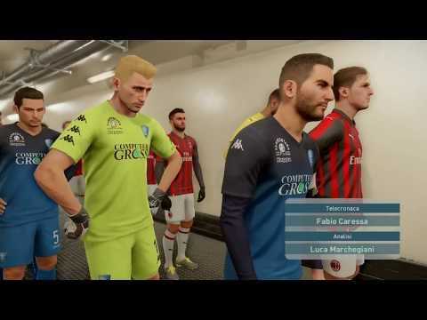Basta Poco - Milan Vs Empoli - Pronostico PES 2019 #24 Serie A