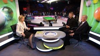 Snooker-O'Sullivan's 147 Break in 5 min.20 sec.