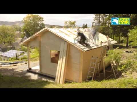 "SKAN HOLZ assembly log cabin ""St. Moritz"" (english)"