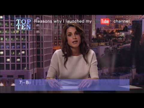 Queen Rania Al Abdullah — Funny, reasonable and hot!