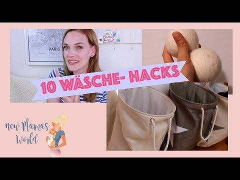 ❌10 WÄSCHE HACKS ❌ SO SPARST DU ZEIT & GELD I Haushaltstipps