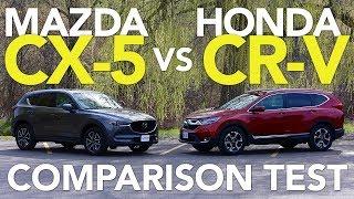 2017 Mazda CX-5 vs 2017 Honda CR-V Comparison Test
