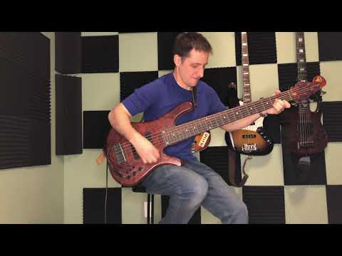 """My arrangement of """"Because"""" by the Beatles for 6 string electric bass."""