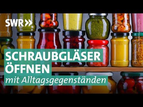 Tipp der Woche: Schraubgläser öffnen leicht gemacht