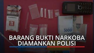 2 Pria Ditangkap Polres Dharmasraya, 4 Paket Narkoba Jenis Sabu Diamankan