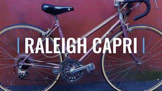 Raleigh Capri Vintage Steel Road Bike 80s