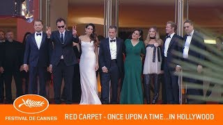 ONCE UPON A TIME   Red Carpet   Cannes 2019   EV