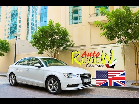 2014 Audi A3 Sedan Ambition 30 TFSI - AutoReview - Dubai (Episode 17) [ENG]