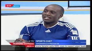 Morning Express 21st November 2016 - [Part 2] - Sports Chat - Harambee Starlets in AWCON 2016
