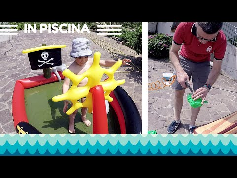 Piscine per bambini gonfiabili: pirati + Angry Birds by Bestway