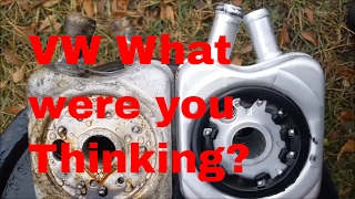 Oil in Coolant What to do when you find Oil in your antifreeze. 2004 VW Beetle fix