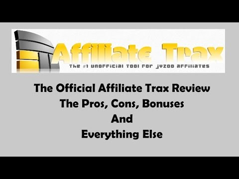Affiliate Trax Review- A Detailed Breakdown Of The Affiliate Trax System
