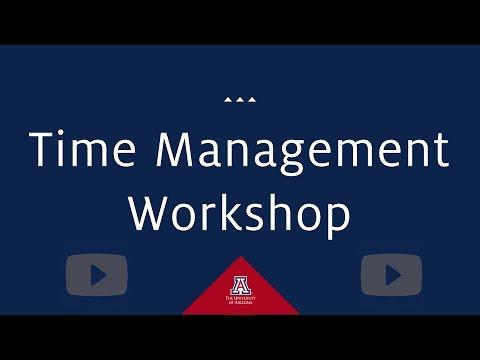 Time Management Workshop - YouTube