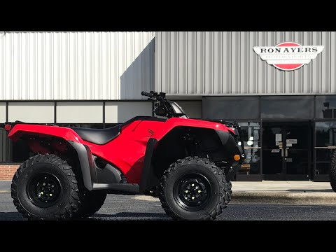 2021 Honda FourTrax Rancher 4x4 Automatic DCT EPS in Greenville, North Carolina - Video 1