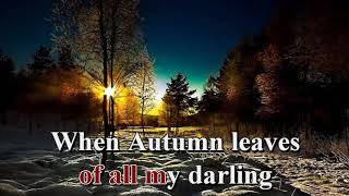 Autumn Leaves Karaoke | Andy Williams