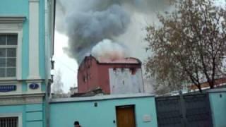 Пожар в клубе DяgileV (сьёмка компании Y-club)