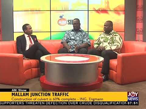 Mallam Junction Traffic - AM Show on JoyNews (30-5-18)