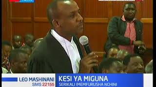 Mutula Kilonzo Jnr: Miguna's deportation was a travesty of justice