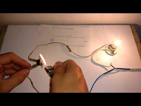 Conexión y funcionamiento de un termostato