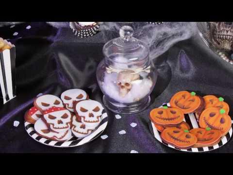 Aquário mortal de esqueleto para Halloween