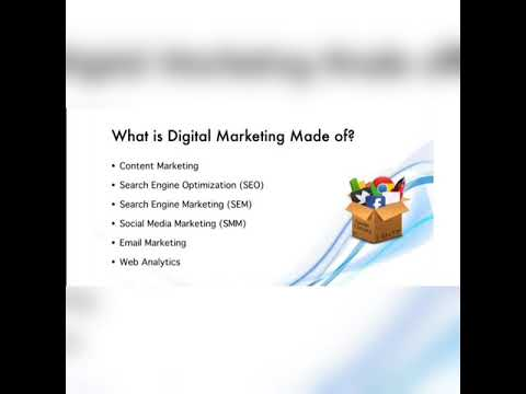The Various Modules in Digital Marketing