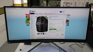 "34"" Acer X34 Predator #QuickLook"