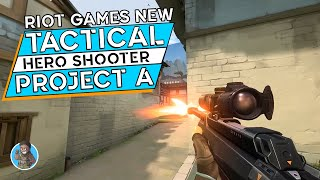 CSGO + Overwatch? Looking At Riots New PC Tactical Hero Shooter