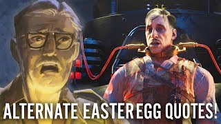 FULL STUHLINGER EASTER EGG IN BLOOD OF THE DEAD: All Easter Egg Quotes & Story (Black Ops 4 Zombies)