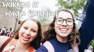 monday // typical week in the disney college program